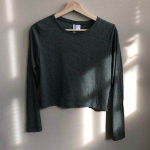 H&M ribbed crop